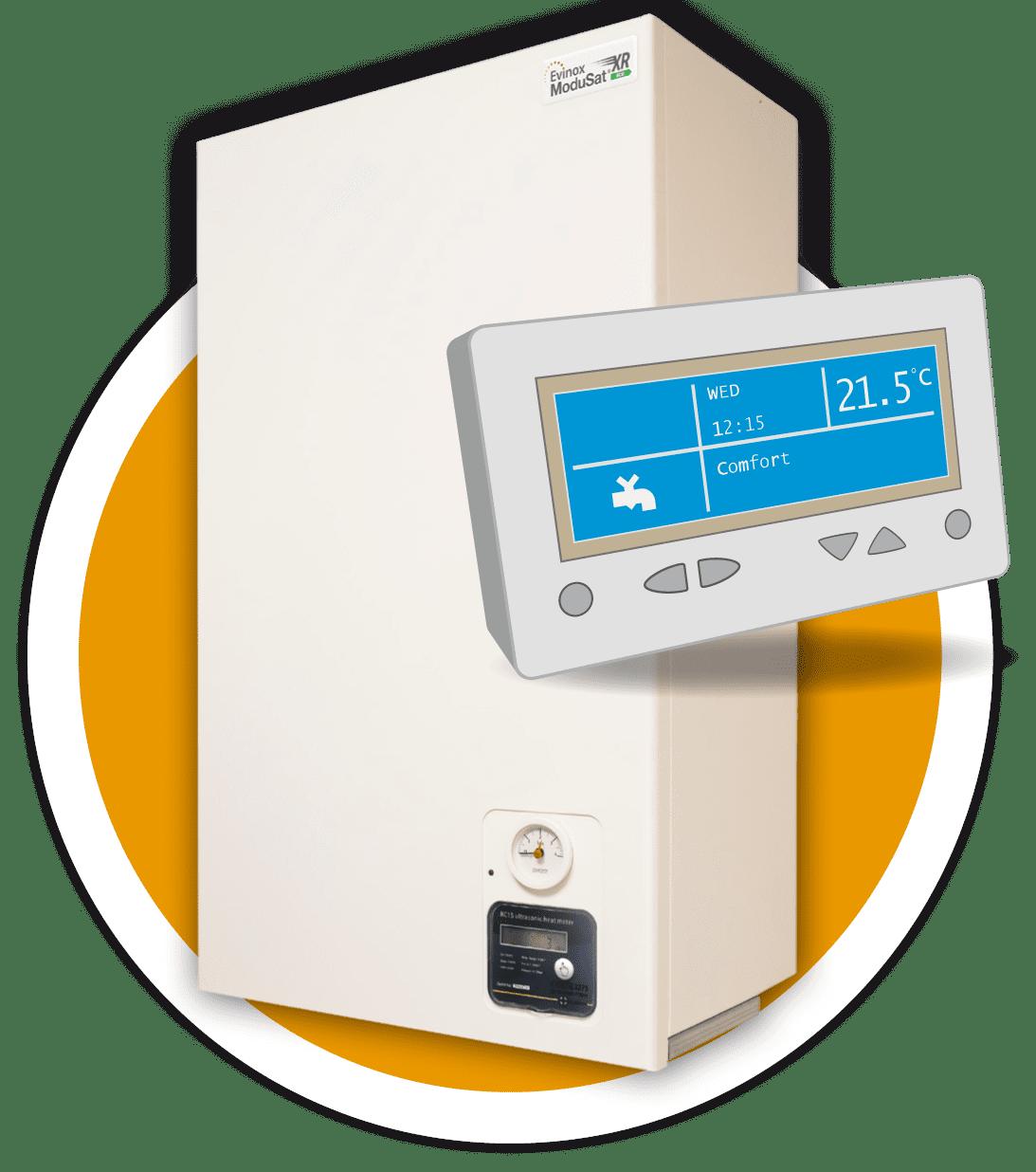 Hiu Heat Interface Units Modusat Smart Evinox Energy Recovery Furnace Wiring Diagram Unit Icon
