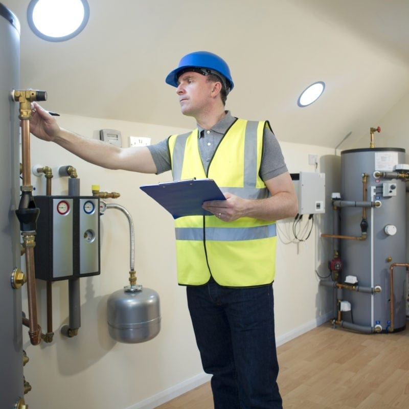 domestic heating engineer